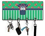 RNK Shops Football Jersey Key Hanger w/ 4 Hooks (Personalized)