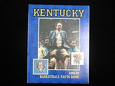 1986-87 University of Kentucky Basketball Media Guide
