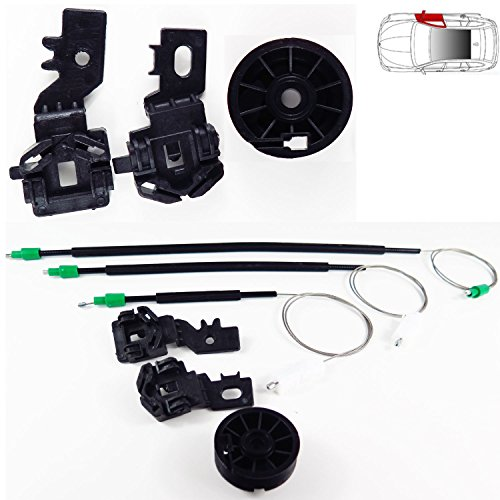 KingSaid Electric Front Right Window Regulator Driver Side For Audi A4 S4 B6//B7 8E