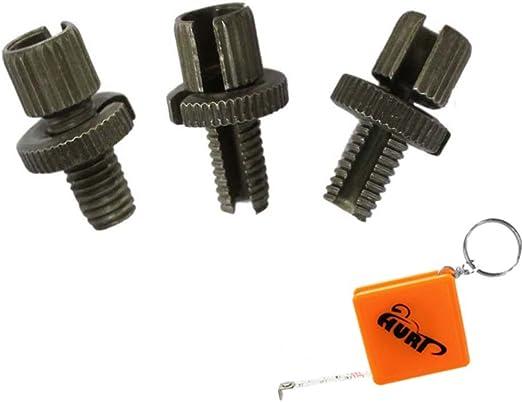Huri Pack de 3 piezas 8 mm cable tensor Tornillo M8 hilo para ...
