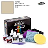 HONDA CIVIC TYPE R / CHAMPIONSHIP WHITE - NH0 / COLOR N DRIVE TOUCH UP PAINT SYSTEM FOR PAINT CHIPS AND SCRATCHES / PRO PACK