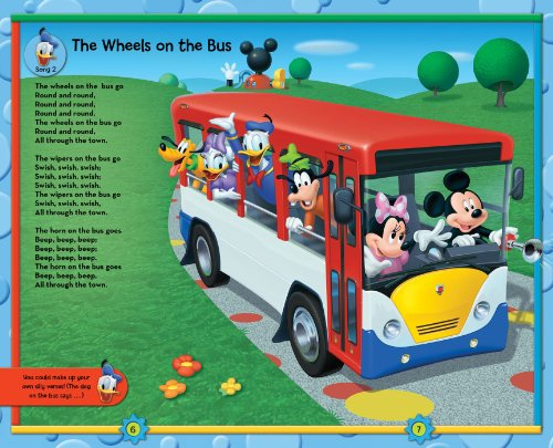Disney Mickey Mouse Clubhouse Take-Along Tunes: Book with