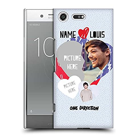 Custom Customized Personalized One Direction 1D Love Louis I Ship Us Hard Back Case for Sony Xperia XZ (Us Premium Hcg)
