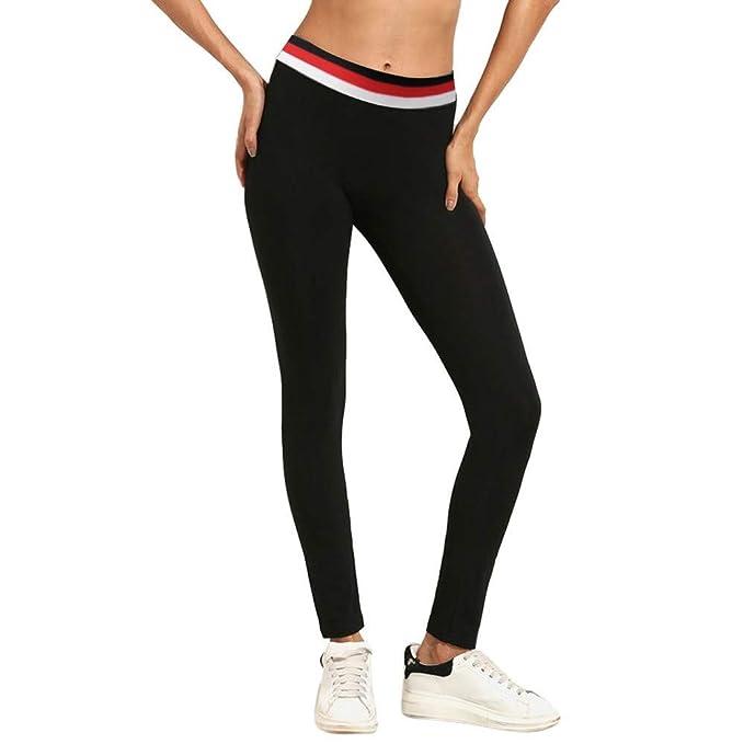 Pantaloni Yoga da Donna Oyedens Donna Allenamento Palestra Athletic Fitness Sports Esercizio Leggings Atletico Pantaloni Pilates Jogging Sportivi Sports Leggings Running Pants Stretch Trouser
