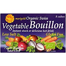 Marigold Organic Low Salt Bouillon Cube Purple - 72g