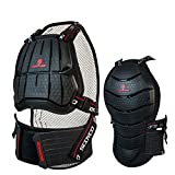 Scoyco AM04 Motorcycle Racing Body Armor Chest Back Protector Motocross Off-road Gear (L)