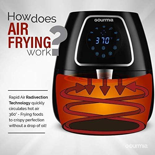 What is the Gourmia GAF318 4 Qt Digital Air Fryer?