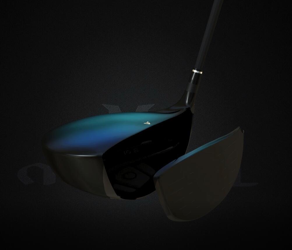 Mazel Titanium Golf Driver 460CC Golf Club Driver Cup Face ...