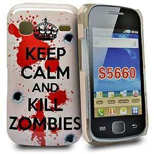 Accessory Master 5055716312492 - Funda para Samsung Galaxy Gio S5660, Multicolor