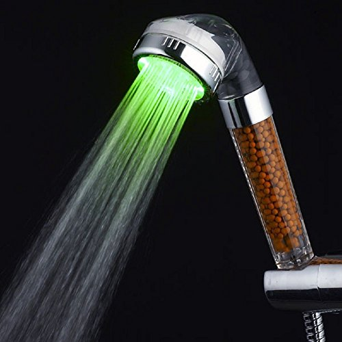 Automatic Color Changing Negative Ion Led Shower Head - 6