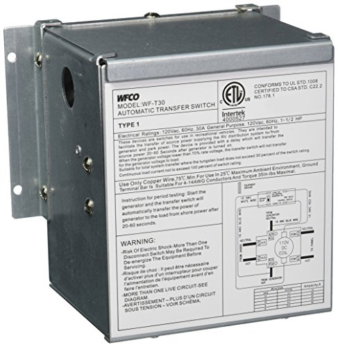 WFCO T30WM 30 Amp Transfer Switch by WFCO (Image #2)
