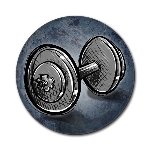 Price comparison product image Weight Lifting Dumbbells Mouse Pad
