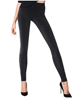 2ee72978b87 Wolford Baily Lurex Leggings at Amazon Women s Clothing store