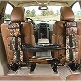 LIVIQILY Front Seat Storage Gun Sling Bag Car Seat Back Shotgun Rifle Rack Case Hunting Gun Holsters Pistols Organizer with Pockets