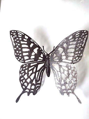 30 x 8 x 23 cm King Home White Butterfly Magazine Rack
