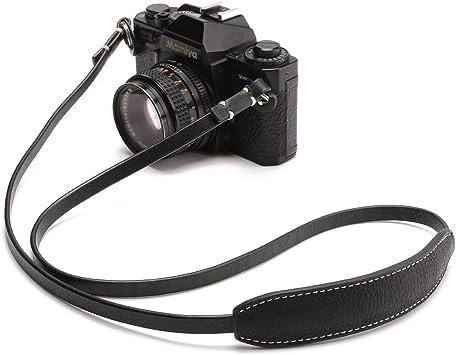 Camera Belt Accessory Handmade Genuine Leather Camera Shoulder Sling Belt for DSLR Digital Camera Neck Strap Durable Color : Coffee