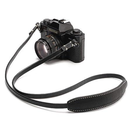 Amazon.com: CANPIS CP005 piel de la cámara Correa de Hombro ...