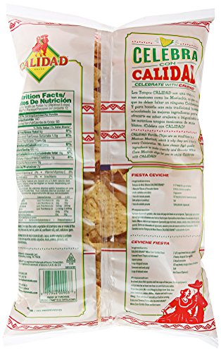 Calidad White Corn Tortilla Chips | Gluten Free, Trans Fat Free | Mexican Restaurant Style Chips | 12 oz