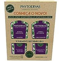 Kit Shampoo e Condicionador Antiqueda Phytoervas, PHYTOERVAS