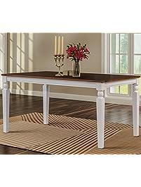 Merax Wood Dining Table Rectangular Dining Room.