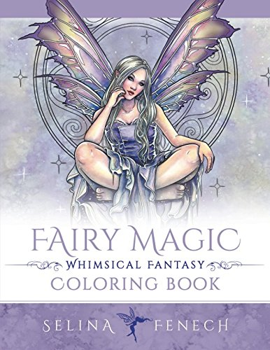Fairy Magic - Whimsical Fantasy Coloring Book (Fantasy Colouring by ()
