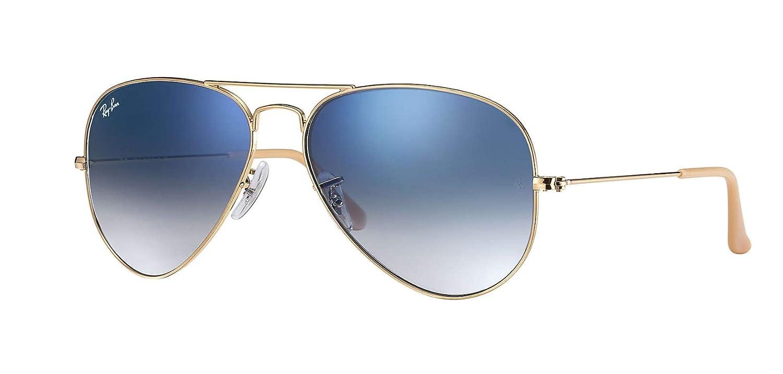 Ray Ban RB3025 Metal Aviator Sunglasses Luxottica L2823