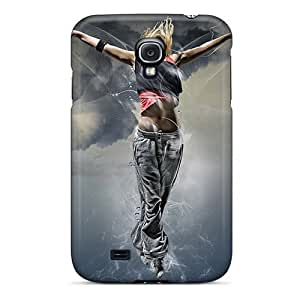 Durable Cases For The Galaxy S4- Eco-friendly Retail Packaging(abstract 3d)