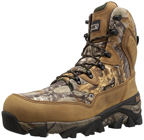 Rocky Men's RKS0324 Mid Calf Boot, Brown Realtree Xtra Camoflauge, 12 W (Ultra Wide Calf Boot)