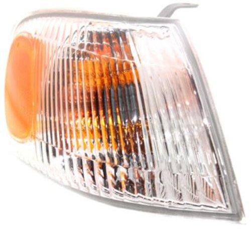 CPP Passenger Side DOT//SAE Compliant Corner Light for 98-00 Toyota Corolla TO2521150