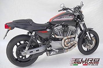 Harley Davidson XR 1200 Zard Exhaust Full System & Carbon Silencer Muffler