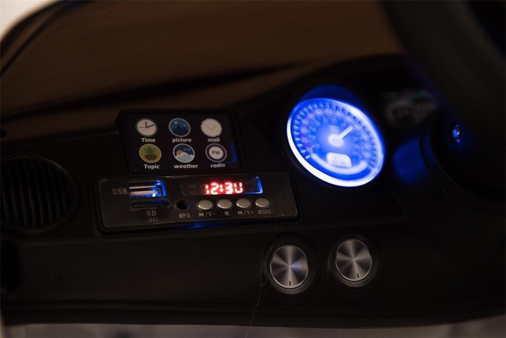 Babyfun Puertas abatibles con MP3 y Llaves bater/ía de 12 V con Mando a Distancia de 2,4 GHz Coche el/éctrico para ni/ños