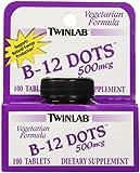 TwinLab - B-12 Dots, 500 mcg, 100 sublingual tablets