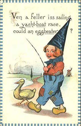 ven-a-feller-iss-sailing-a-yacht-boat-race-could-an-eggbeater-original-vintage-postcard