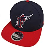 New Era Florida Marlins Cooperstown Classics Snapback Cap Navy Red 9fifty 950 Limited Special Edition