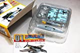1/144 scale wing kit collection Vol.11 WWII Date, Germany and the US fighter Hen [1-B. Messerschmitt Bf109G-5 German Air Force 11th Fighter Wing commander machine] (single)