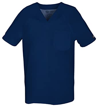 1102d4cd181 Amazon.com: Gen Flex by Dickies Men's V-Neck Scrub Top XXXXX-Large Navy: Medical  Scrubs Shirts: Clothing