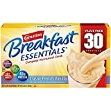 Carnation Breakfast Essentials Nutritional Drink Mix, Vanilla or Chocolate (30 ct.) (pack of 6)