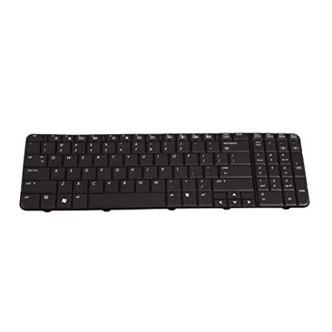 HP 496771-001 Laptop Keyboard Black (Compatible Replacement)
