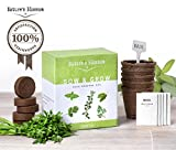 Home Garden Best Deals - Natures's Blossom Sow and Grow 5 Herbs kit