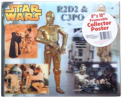 Star Wars C3PO and R2D2 Classic Hologram VividVision Poster