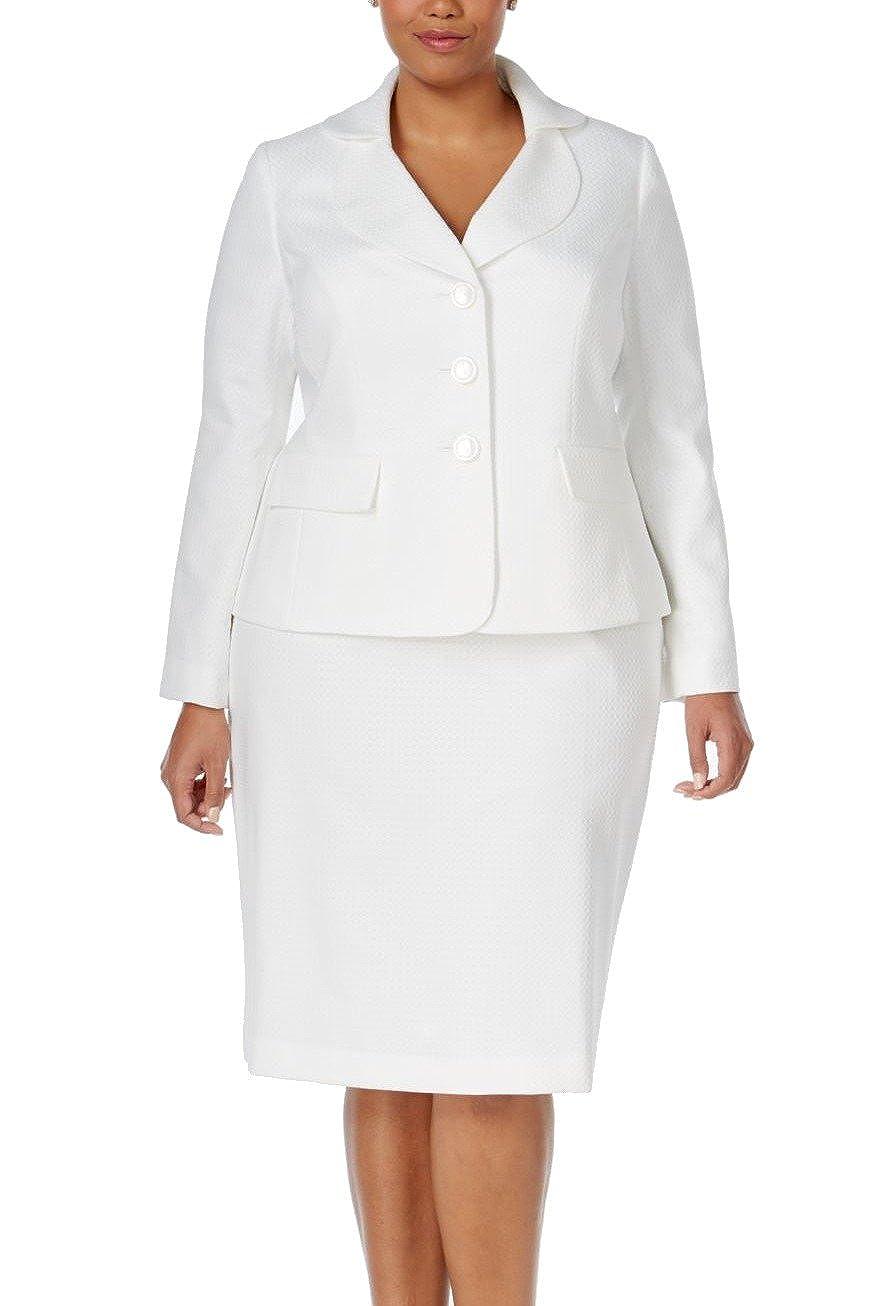 Le traje de la mujer con tres botones geometric-texture falda ...