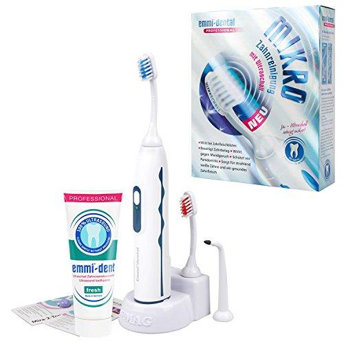 Emmi-dental - Spazzolino da denti agli ultrasuoni, professionale, mod. 2015