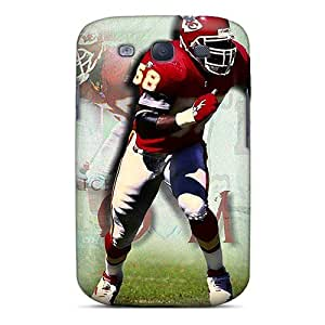 Hard Plastic Galaxy S3 Case Back Cover,hot Kansas City Chiefs Case At Perfect Diy
