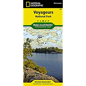 Voyageurs National Park (National Geographic Trails Illustrated Map)