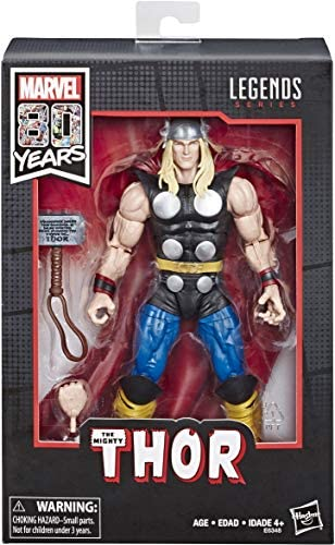 Hasbro Marvel Comics 80th Anniversary Legends Series 6-Inch-Scale Vintage Comic-Inspired Thor Collectible Action Figure