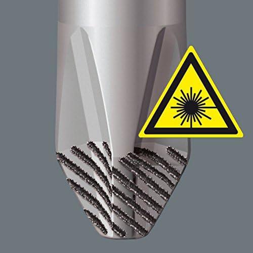 Stainless Steel Wera 3160/i VDE Flat Head Screwdriver 0.6/x 3.5/x 100/mm 05022730001