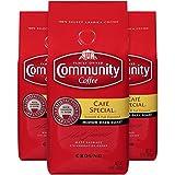 Community Coffee Premium Ground Coffee, Cafe Special, Medium-Dark Roast, 12 oz., (Pack of 3)