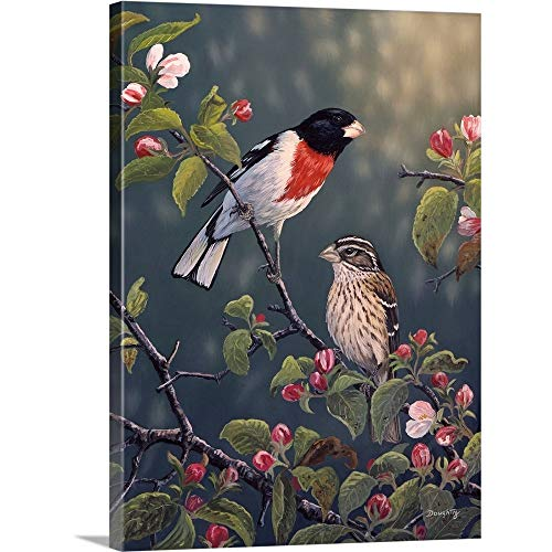 Time Blossoms (Terry Doughty Premium Thick-Wrap Canvas Wall Art Print Entitled Apple Blossom Time 18