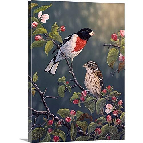 Apple Blossom Time Canvas Wall Art Print, 18