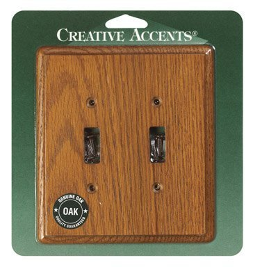 Creative Accents Contemporary Oak Wall Plate (902) (Creative Accents Wall Plate)